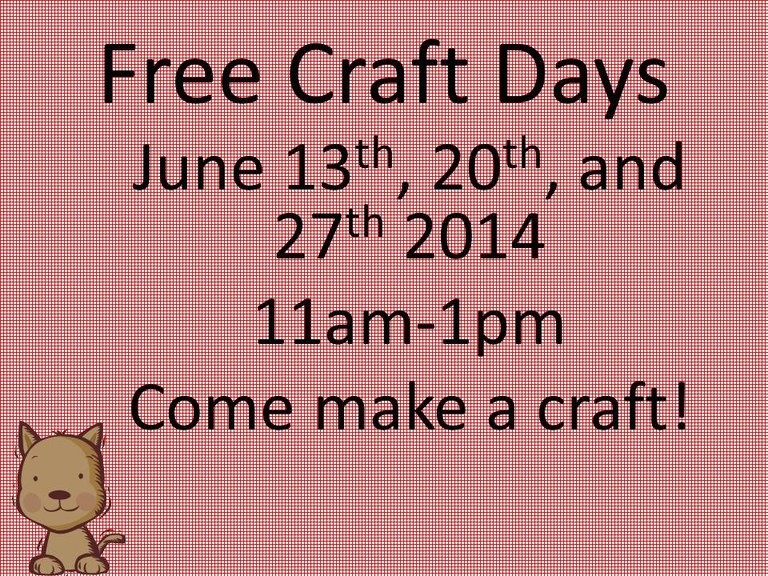 Craft Days